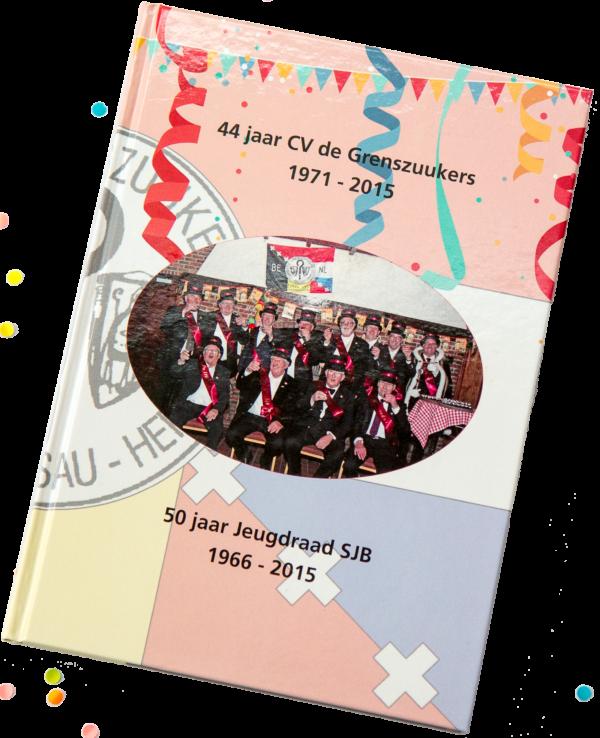 Boek 44 jaar CV de Grenszuukers